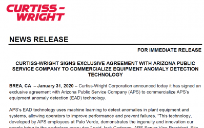 Preview of Curtiss-Wright press release
